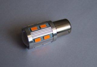 高輝度 SMD LED 16個搭載プロジェクター LEDウインカー(アンバー/オレンジ色)S04