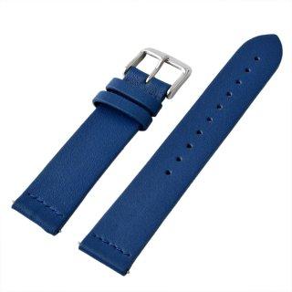 アレス ALLES wbh19a003   【工具不要で取付簡単!】 腕時計用ベルト HOLYレザー ブルー 19mm レバーピン 時計バンド 革バンド ベルトのみ