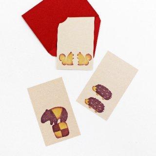 クッキー詰め合わせカード