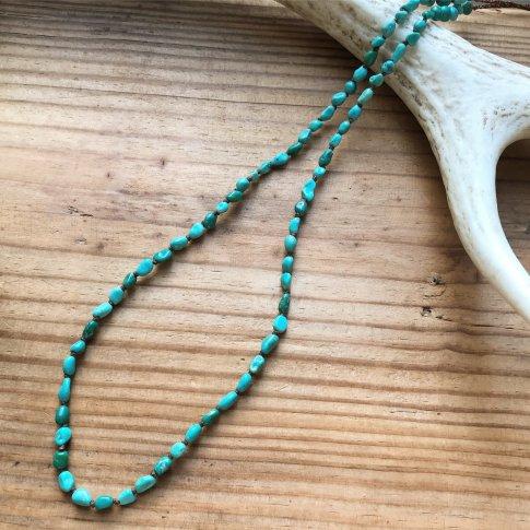 Sleeping Beauty Linen Necklace