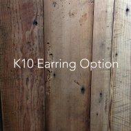 K10イヤリング(オプション)