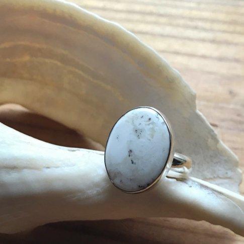Modern Ring /White Buffalo 3