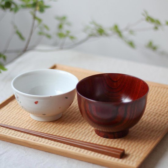 お椀 紅欅 / 我戸幹男商店