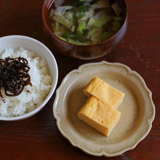 灰釉小皿 / 渡辺信史