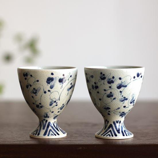 花唐草 ワインカップ  / 石井桃子