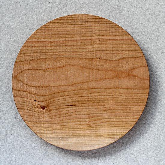 丸盆 さくら 28cm / 堀宏治