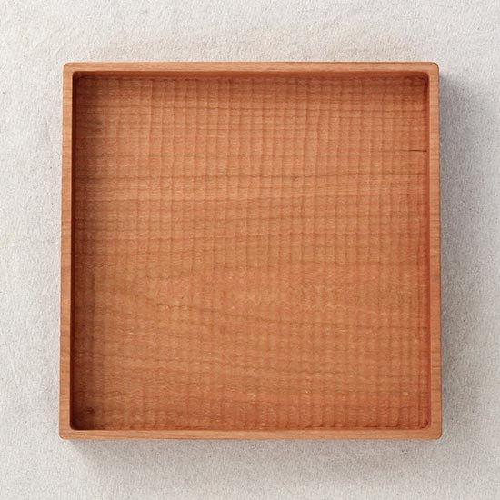 角盆さくら 正方形 / 堀宏治