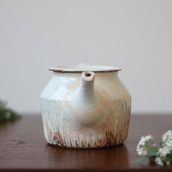 ポットB しのぎ・低 / 古谷製陶所
