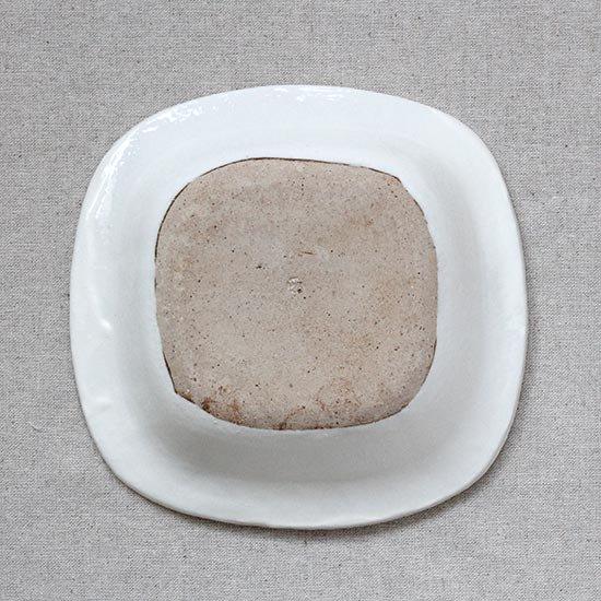 リム角鉢 / 石川若彦