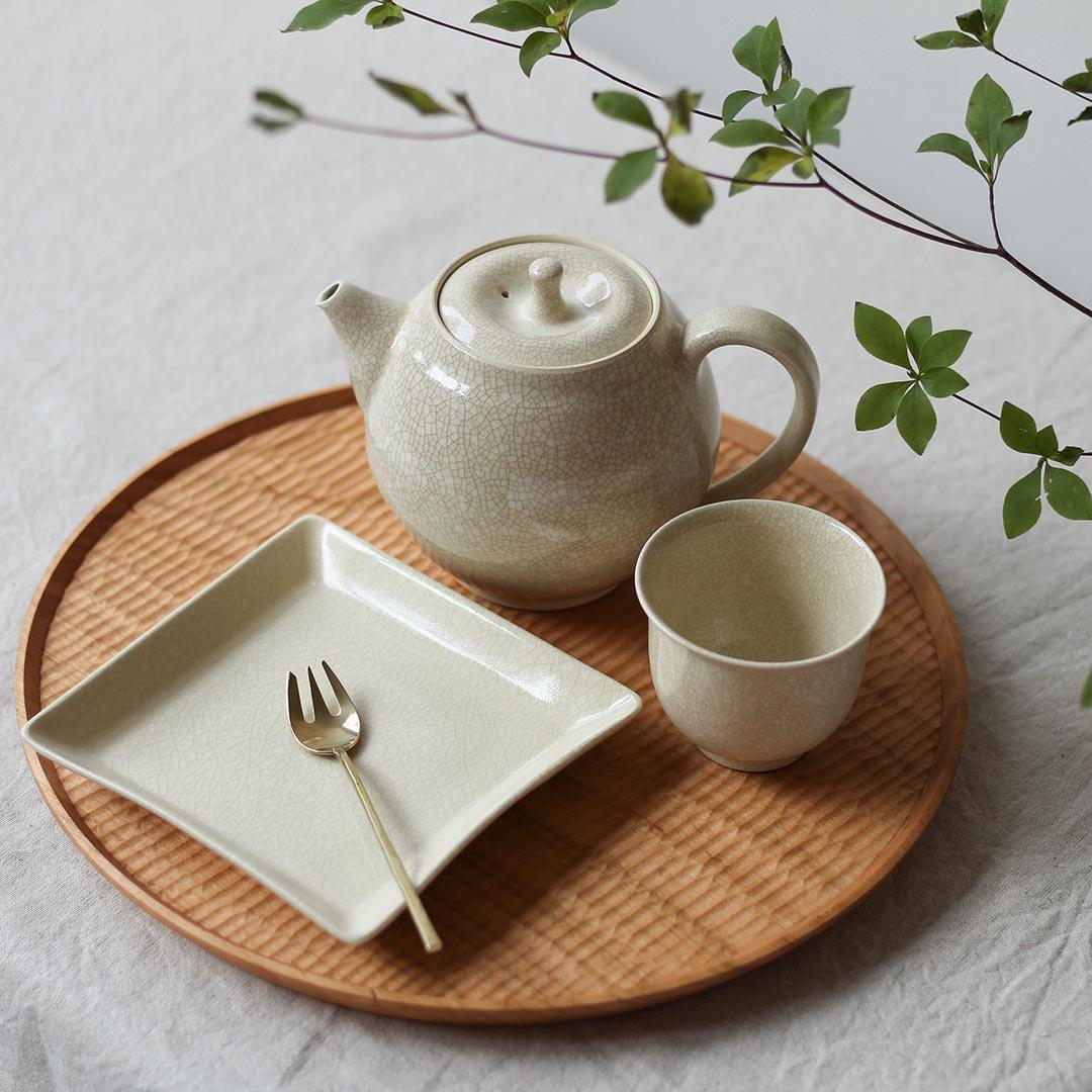 正角皿 / 石黒剛一郎