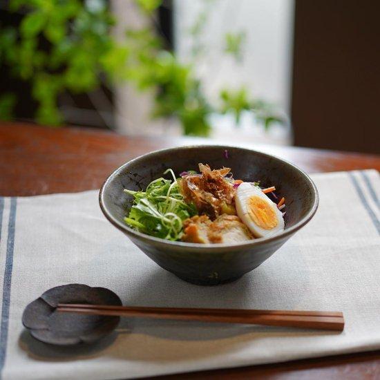 切立丼 鉄散 / 古谷製陶所