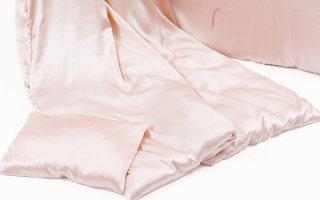 シルク100% 喘息・アレルギー対策寝具【floss】掛け布団(ピンク)