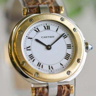 <No.0088><br>Cartier カルティエ<br>[ SANTOS / サントス ]<br>レディース アンティークウォッチ