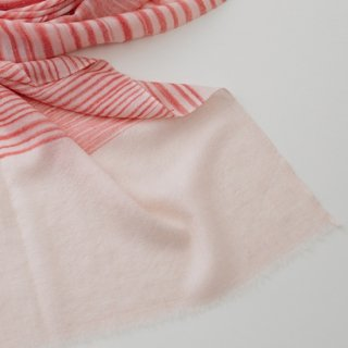 【30%OFF】S-PN0472_0031_PINK カシミヤ 手織りストール