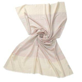 【30%OFF】S-PN0495_0032_LIGHT PINK カシミヤ 手織りストール