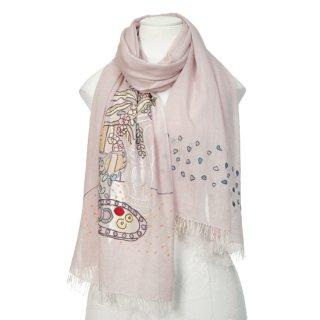 【MY ROOM】薄手ウール・シルク マイ・ルーム アリー手刺繍