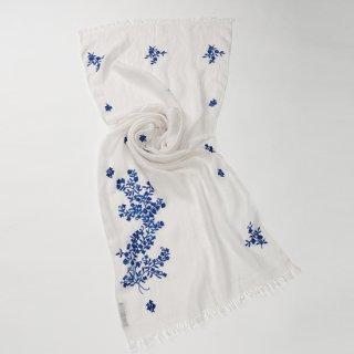 【SUMMER GIFT SERIES サマーギフトシリーズ】麻 手刺繍ギフトシリーズ(ホワイト/ネイビー)