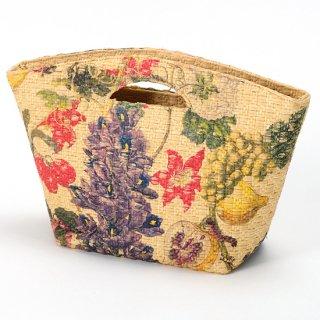 【TARA BLANCA SELECT】【Maria La Rosa(マリア ラ ローザ)】イタリア製 ペイント バッグ