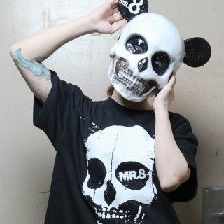 [MR.8] ビッグフェイスデザインTシャツ
