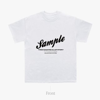 [TMCS] TMCS×ご賛同者様コラボTシャツ A (Designed by KAVANE clothing) WHITE