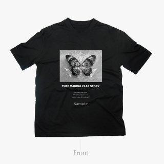 [TMCS]  TMCS×ご賛同者様コラボTシャツ C BLACK