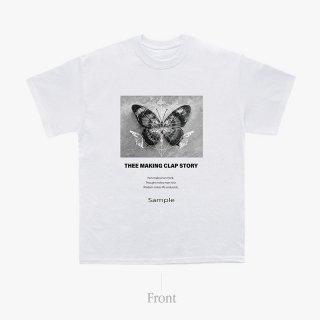 [TMCS]  TMCS×ご賛同者様コラボTシャツ C WHITE