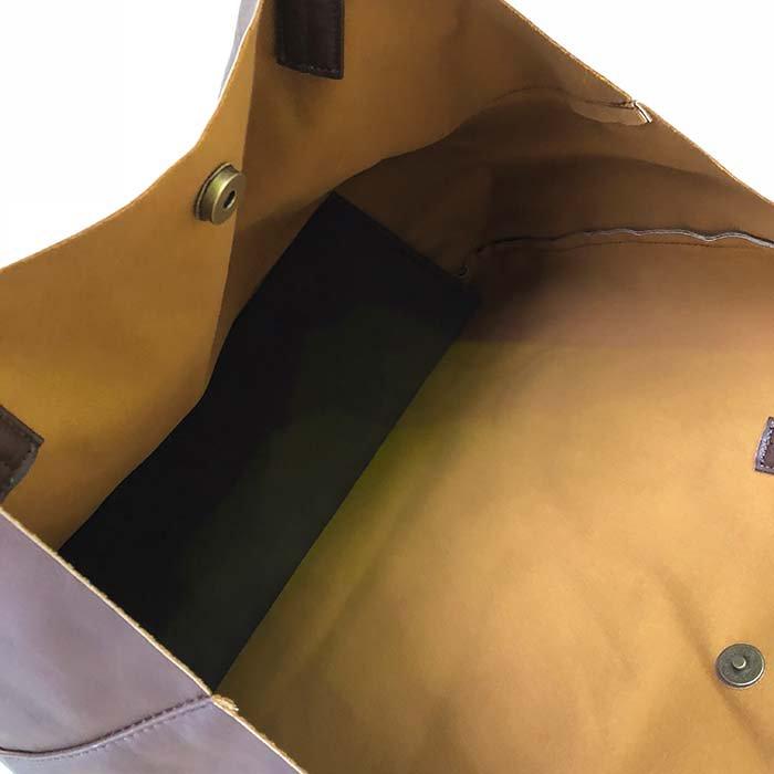 Legato Largo 柔らかフェイクレザートートバッグ サブイメージ