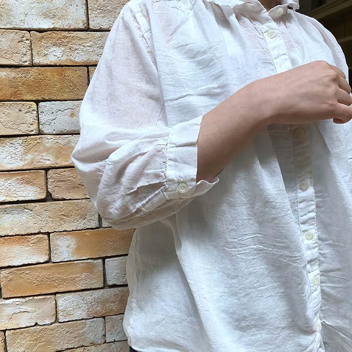 SUN VALLEY 40ボイルガーゼ8分袖シャツ サブイメージ