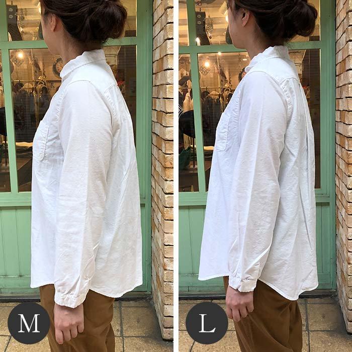 SUN VALLEY 日本製品染め長袖オックスシャツ サブイメージ