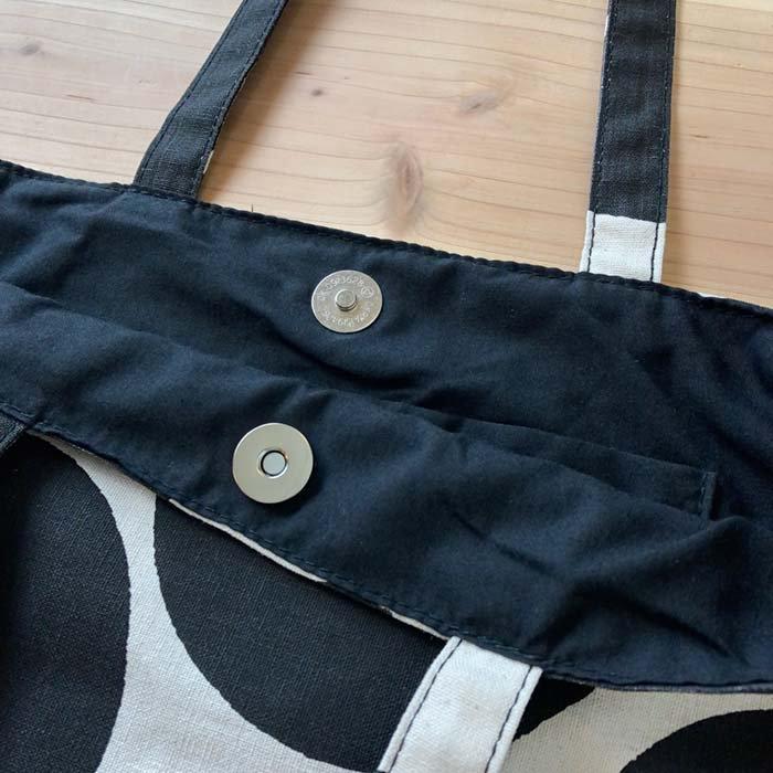 BARNDOOR ドット柄リネンコットントートバッグ サブイメージ