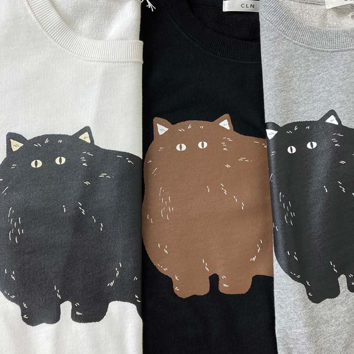 CLN 猫柄プルオーバー サブイメージ