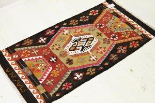 カイセリ オールドキリム 99X53cm 横糸ウール、縦糸コットン [商品番号 5297]