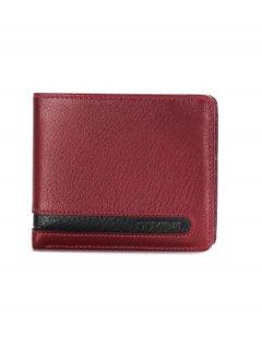 トルコ レザー 財布 レッド 牛革100% 1510