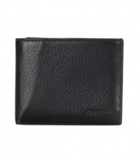 トルコ レザー 財布 ブラック 牛革100% 1555