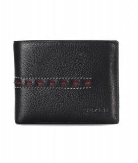 トルコ レザー 財布 ブラック 牛革100% 1565