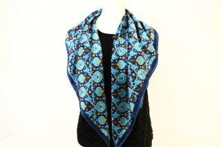 トルコ製 オリジナルシルクスカーフ シルク100% ーID S105−10