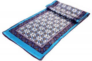 トルコ製 オリジナルシルクスカーフ シルク100% ーID S101−5