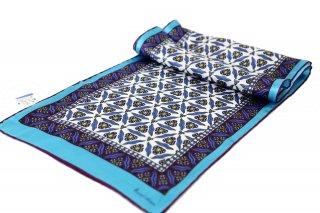 トルコ製 オリジナルシルクスカーフ シルク100% ーID S101−7