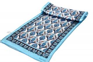 トルコ製 オリジナルシルクスカーフ シルク100% ーID S102−3