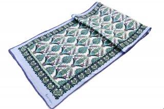 トルコ製 オリジナルシルクスカーフ シルク100% ーID S102−9