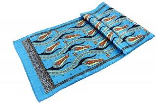 トルコ製 オリジナルシルクスカーフ シルク100% ーID S103−2