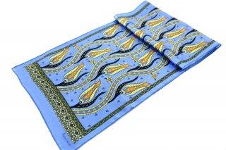 トルコ製 オリジナルシルクスカーフ シルク100% ーID S103−3