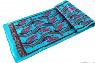 トルコ製 オリジナルシルクスカーフ シルク100% ーID S103−4