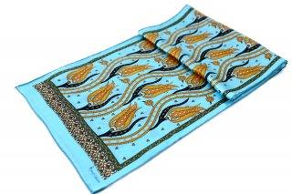 トルコ製 オリジナルシルクスカーフ シルク100% ーID S103−9