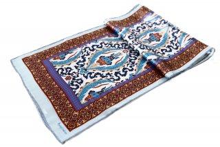 トルコ製 オリジナルシルクスカーフ シルク100% ーID S104−1