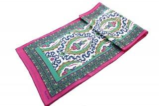 トルコ製 オリジナルシルクスカーフ シルク100% ーID S104−5