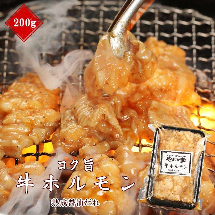 コク旨牛ホルモン【熟成醤油だれ】200g(K2-009)