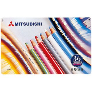 三菱鉛筆 色鉛筆880 K88036CP 36色セット