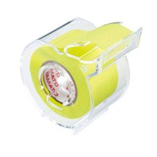 ヤマト メモックロールテープカッター付 1巻入り 25mm×10m レモン