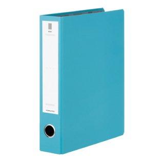 コクヨ NEOS ネオス チューブファイル A4縦50mmとじ 2穴 ターコイズブルー フ-NE650B